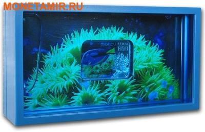 Ниуэ 1 доллар 2013. «Голубой Хирург» серия «Тропические коралловые рыбы».Арт.000322246463 (фото, вид 2)