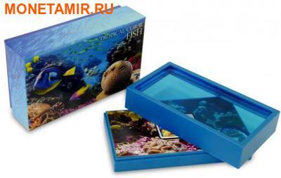 Ниуэ 1 доллар 2013. «Голубой Хирург» серия «Тропические коралловые рыбы».Арт.000322246463 (фото, вид 3)