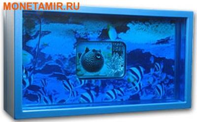Ниуэ 1 доллар 2013. «Белоточечный аротрон» серия «Тропические коралловые рыбы».Арт.000322246469 (фото, вид 2)