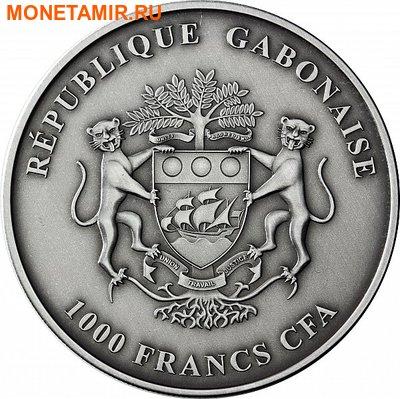Габон 1000 франков 2012. «Слон».Арт.000345246960 (фото, вид 1)