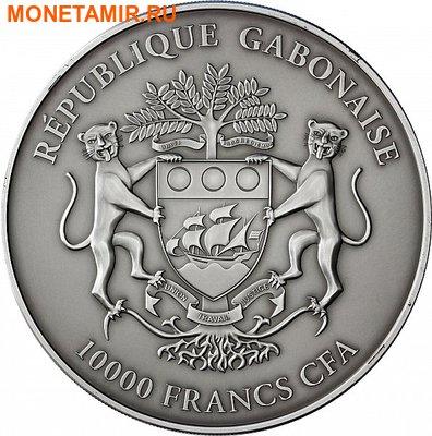 Габон 10000 франков 2013. «Лев».Арт.000345246967 (фото, вид 1)