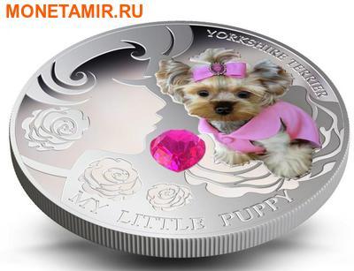 Фиджи 2 доллара 2013.Йоркширский терьер - Мой маленький щенок серия Собаки и кошки.Арт.000358046364/60 (фото, вид 3)