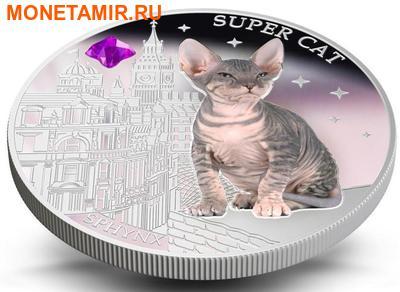 Фиджи 2 доллара 2013.Сфинкс - Супер кошка серия Собаки и кошки.Арт.000358046379/60 (фото, вид 3)