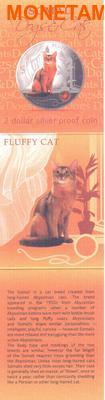 Фиджи 2 доллара 2013.Сомали - Пушистая кошка серия Собаки и кошки.Арт.000358046391/60 (фото, вид 3)