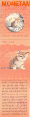 Фиджи 2 доллара 2013.Бархатная кошка - Дикая кошка серия Собаки и кошки.Арт.000358046376/60 (фото, вид 4)