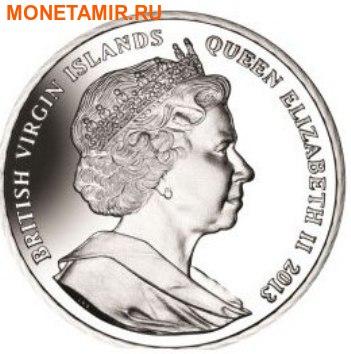 Британские Виргинские Острова 1 доллар 2013. Набор из 4-х монет. «400 лет династии Романовых». Арт.000127847246 (фото, вид 1)