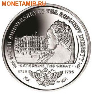 Британские Виргинские Острова 1 доллар 2013. Набор из 4-х монет. «400 лет династии Романовых». Арт.000127847246 (фото, вид 3)