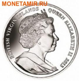 Британские Виргинские Острова 1 доллар 2013. Набор из 4-х монет(эмаль). «400 лет династии Романовых». Арт.000179047251 (фото, вид 1)