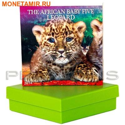 Бурунди 5000 франков 2014. «Леопард – Детеныши Большой Африканской Пятерки».Арт.000300047374 (фото, вид 3)