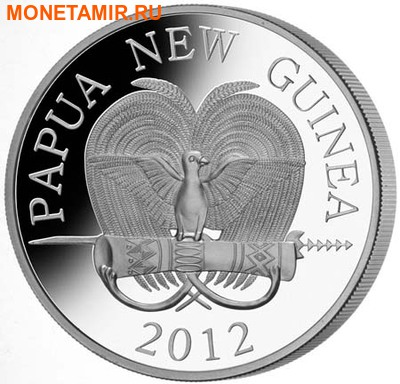 Папуа Новая Гвинея 5 кина 2012. «Колючий муравьед - Ехидна».Арт.000314546554 (фото, вид 1)