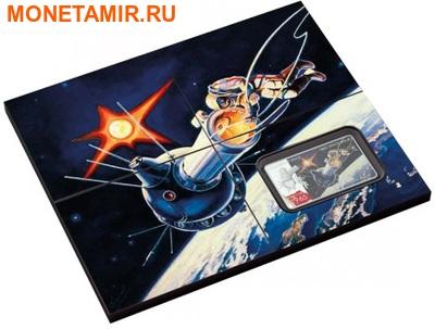 Ниуэ 2 доллара 2011.Алексей Леонов – Покорение Космоса.Арт.000281346436/60 (фото, вид 2)