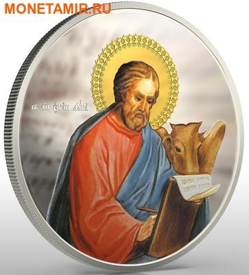 Ниуэ набор из 4 монет 2 доллара 2011. «Евангелисты - Матвей, Марк, Лука, Иоанн» серия «Православные Святыни» Арт.001329846406 (фото, вид 3)