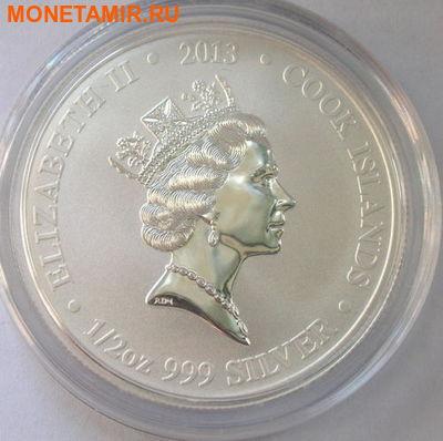 Острова Кука 2 доллара 2013 набор из трех монет. «Космос – Космические корабли Китая – «Шэньчжоу 5», «Шэньчжоу 6», «Шэньчжоу 8».Арт.000120247452 (фото, вид 1)