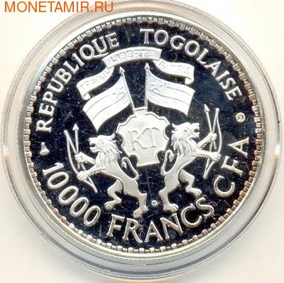 Того 10000 франков 1977.Генерал Гнассингбе.Арт.000100034008/60 (фото, вид 1)
