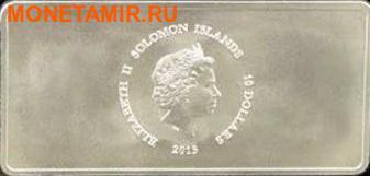 Соломоновы острова 10 долларов 2013.Шесть драгоценных металлов.Арт.000905046138/60 (фото, вид 1)