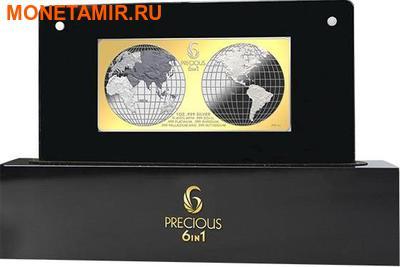 Соломоновы острова 10 долларов 2013.Шесть драгоценных металлов.Арт.000905046138/60 (фото, вид 4)