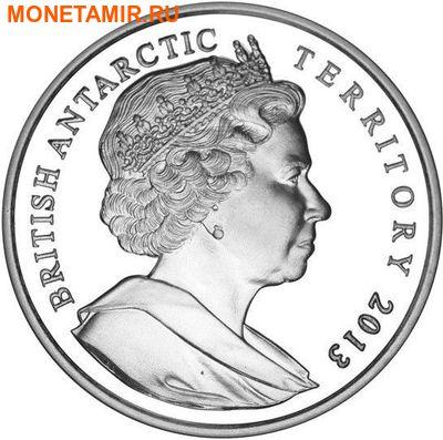 Британские Антарктические Территории 2 фунта 2013. «Земля Королевы Елизаветы».Арт.000179043611 (фото, вид 1)
