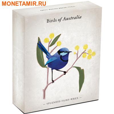 Австралия 50 центов 2013. «Волнистый попугайчик» – серия «Птицы Австралии».Арт.000172742833 (фото, вид 3)