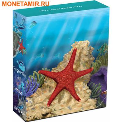 Австралия 50 центов 2011. «Морская звезда» серия «Морская жизнь Австралии II – Риф».Арт.000192236311 (фото, вид 3)