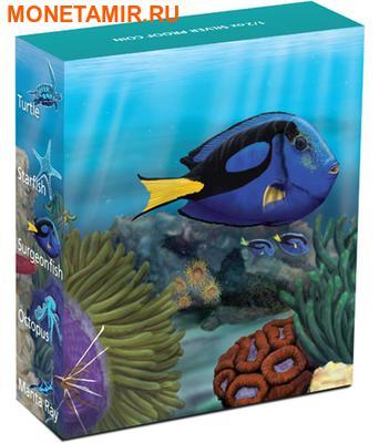 Австралия 50 центов 2012. «Рыба-Хирург» серия «Морская жизнь Австралии II – Риф».Арт.000100040311 (фото, вид 3)
