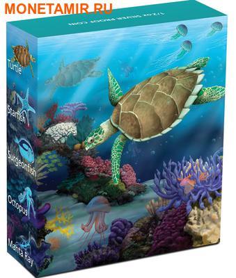 Австралия 50 центов 2011. «Черепаха-Хоксбилла» серия «Морская жизнь Австралии II – Риф».Арт.000184234916 (фото, вид 3)