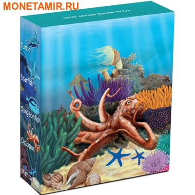 Австралия 50 центов 2012. «Осьминог» серия «Морская жизнь Австралии II – Риф».Арт.000100040316 (фото, вид 3)