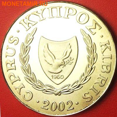 Кипр 1 фунт 2002. «Бабочка на ветке».Арт.000089547712 (фото, вид 1)