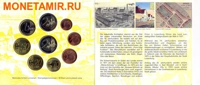 Люксембург 5,88 евро 2010 Годовой набор евро (Luxemburg 5,88 Euro 2010 Euro set).Арт.000105647710 (фото, вид 5)