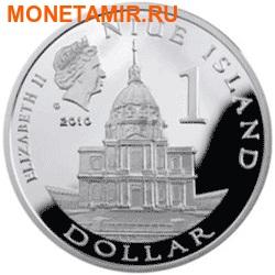 Ниуэ 1 доллар 2010. Наполеон Бонапарт.Арт.000209047649 (фото, вид 1)