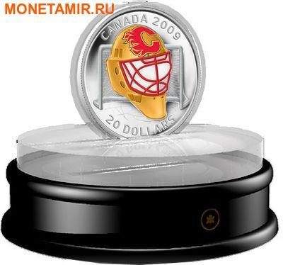 Канада 20 долларов 2009.Набор 4 монеты. Хоккей – НХЛ Маска вратаря – «Ванкувер Кэнакс», «Калгари Флеймз», «Оттава Сенаторз», «Эдмонтон Ойлерз».Арт.001500047864 (фото, вид 3)