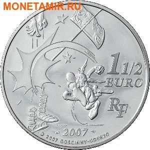Франция 3х1,5 евро 2007. Набор из трех монет. Астерикс серия «Герои любимых комиксов».Арт.000854944306 (фото, вид 4)
