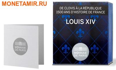 Франция 10 евро 2014. Король Людовик X IV – серия 1500 лет Французской истории.Арт.000100048509 (фото, вид 2)