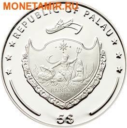 Палау 5 долларов 2015 Клевер – Унция удачи (Palau 5$ 2015 Ounce of Luck 4-leaf clover).Арт.000256848898/60 (фото, вид 2)