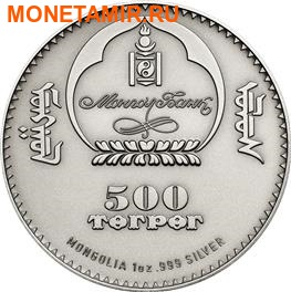Монголия 500 тугриков 2014.Манул серия Охрана дикой природы.Арт.000443148572/60 (фото, вид 4)
