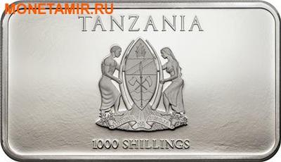 Танзания 1000 шиллингов 2014.Три обезьяны.Арт.000100048833 (фото, вид 2)