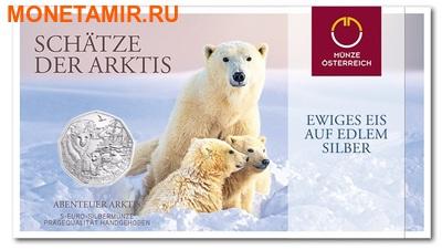 Австрия 5 евро 2014.Белый медведь – Очаровательная Арктика.Арт.000068648197/60 (фото, вид 2)