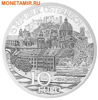 Австрия 10 евро 2014.Зальцбург – Моцарт.Арт.000160348201 (фото, вид 1)
