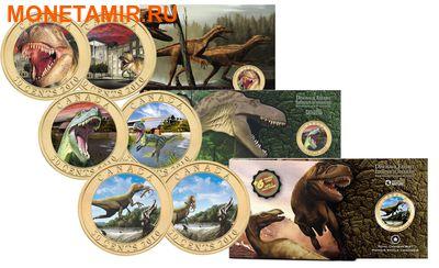 Канада 50 центов 2010.Динозавры - Синозавроптерикс (Sinosauropteryx). (фото, вид 5)