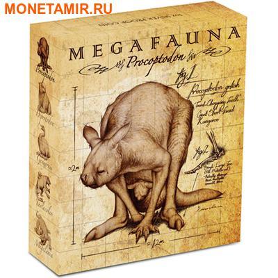 Австралия 1 доллар 2013.Кенгуру - Прокоптодон серия «Мегафауна».Арт.000233945632 (фото, вид 3)