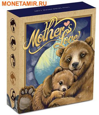 Тувалу 50 центов 2014.Бурый медведь серия Материнская любовь.Арт.000171448658/60 (фото, вид 3)