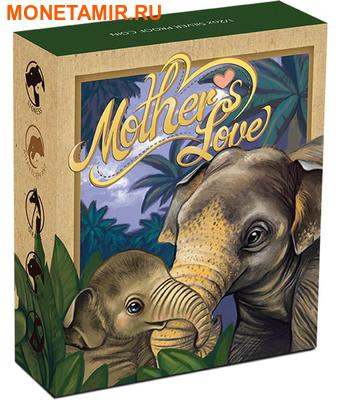 Тувалу 50 центов 2014.Слон серия Материнская любовь.Арт.000171448652/60 (фото, вид 3)