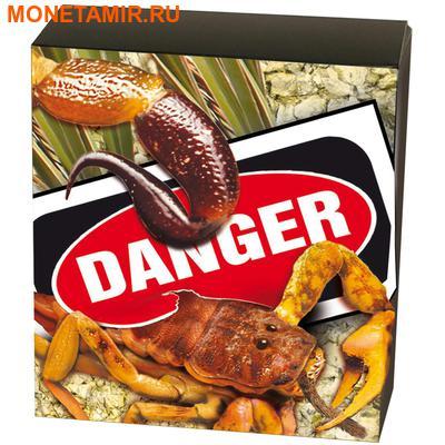 Тувалу 1 доллар 2014 Скорпион серия Смертельно Опасные (Tuvalu 1$ 2014 Deadly and Dangerous Spider Hunting Scorpion 1oz Silver Coin).Арт.000276948660/92 (фото, вид 3)