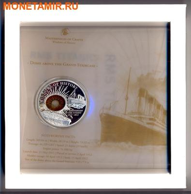 Острова Кука 10 долларов 2012.Корабль Титаник серия Окно истории.Арт.000450049154 (фото, вид 2)