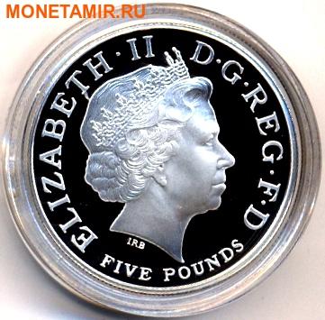 Великобритания 5 фунтов 2004 года.100 лет создания Антанты.Арт.000350049153 (фото, вид 1)