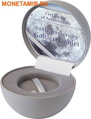 Острова Кука 10 долларов 2014 года.Космос - Галилео Галилей – 450 лет со дня рождения.Арт.000400447899 (фото, вид 2)