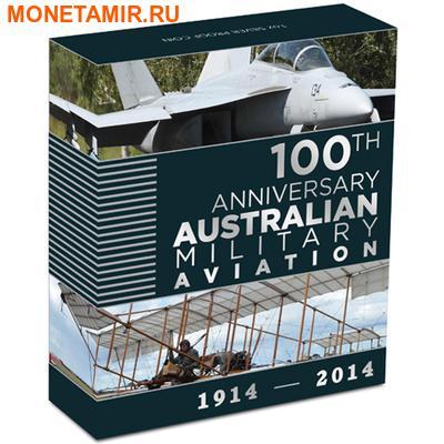 Австралия 1 доллар 2014.Самолет – 100 лет Австралийской военной авиации.Арт.000251148136 (фото, вид 3)