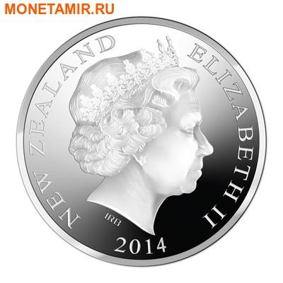 Новая Зеландия 5 долларов 2014.Пингвин Кайруку.Арт.000332348589 (фото, вид 1)