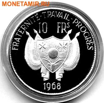 Нигер 10 франков 1968.Лев.Арт.000164247458 (фото, вид 1)
