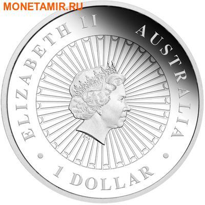 Австралия 1 доллар 2013.Поссум – Опал.Арт.000290148174 (фото, вид 1)