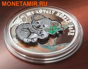 """""""Мишка"""" """"Вязанный - Коала"""". Палау 5 долларов 2013.Арт.000218245198 (фото, вид 1)"""